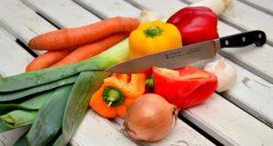 cięcie warzyw