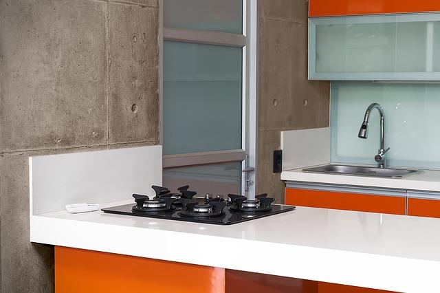 Beton architektoniczny w kuchni – innowacyjne rozwiązania